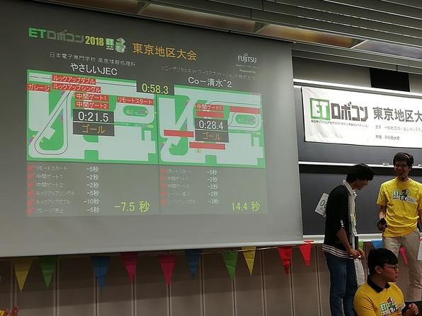 """""""ET 로보콘 2018"""" 정보시스템 개발과·고도 정보처리과의 학생 팀이 도쿄 지구에서 입상했습니다!"""