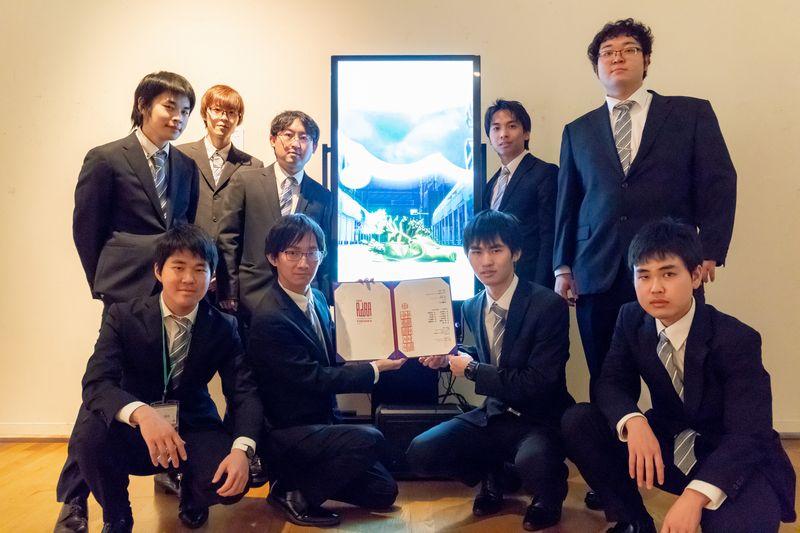 """게임 제작 연구과 """"아시아 디지털 아트 대상전 FUKUOKA""""에서 우수한 상을 수상!"""