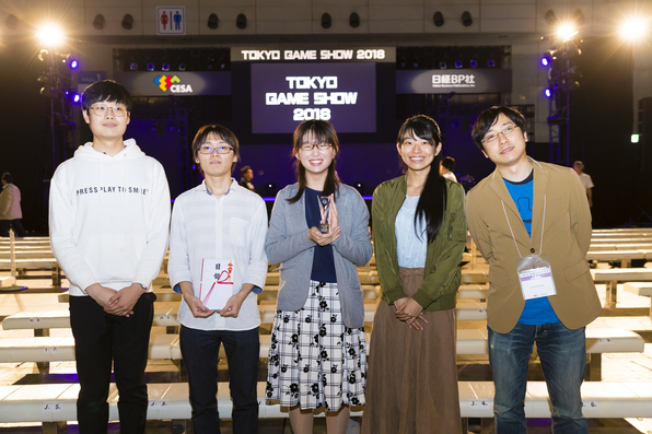 """Game production science preparation of fish to look lifelike product """"Trickle"""" wins award for excellence in game award amateur section in Japan!"""